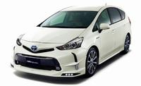 "Обвес (передняя губа) на Toyota Prius A Alfa ""TRD sportivo"""