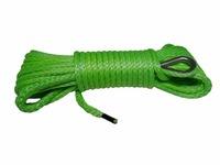 Кевларовый трос (зеленый) 6мм * 30м