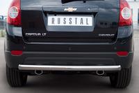 Защита заднего бампера - дуга Chevrolet Captiva 2012 (d63)