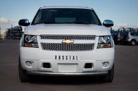 Защита переднего бампера - дуга Chevrolet Tahoe 2012 (d76)