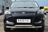 Защита переднего бампера - дуга Ford Kuga 2013- (d63/63)