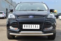 Защита переднего бампера - дуга Ford Kuga 2013- (d63/75*42)