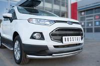 Защита переднего бампера - дуга Ford Ecosport 2014- (d63/42)