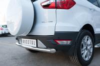 Защита заднего бампера - дуга Ford Ecosport 2014- (d63)