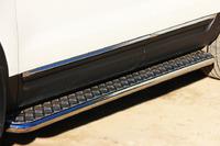 Пороги труба с листом Ford Explorer 2012 (d42)