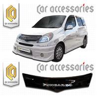 Дефлектор капота - мухобойка Toyota FunCargo 2001