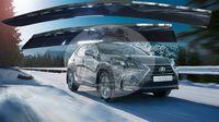 Ветровики - дефлекторы окон Lexus NX200/300H 14- с молдингом (TXR Тайвань)
