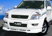 """Обвес - передняя губа """"JAOS"""" Toyota Land Cruiser Prado 120 / 125"""