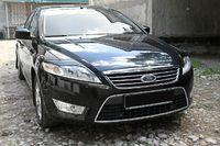 Накладки на фары (реснички) Ford Mondeo 2008-2011