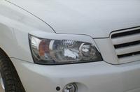 Реснички - накладки на фары Toyota Highlander / Kluger (20 кузов)