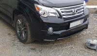 Фендера - расширители колесных арок Lexus GX 460 (9мм)