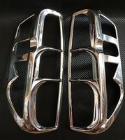 Хром накладки на стопы Nissan Navara