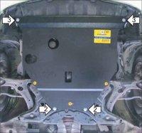 """Защита картера """"Шериф"""" Toyota Prius 2003-2009 NHW20"""