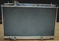 Радиатор алюминиевый Nissan 350Z, Skyline V35, Infiniti G35 2002-2006 (50мм)