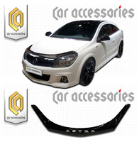 Дефлектор капота - мухобойка Opel Astra 04-11