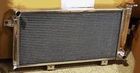 Радиатор алюминиевый Нива 40мм МТ