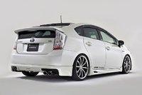 """Губа задняя """"KenStyle"""" на Toyota Prius 30 (2009-2011)"""