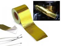 Оплетка (термолента) для впускных систем золото 5м*50мм