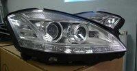 Фары на Mercedes S-class W221 63 AMG (рестайлинг)