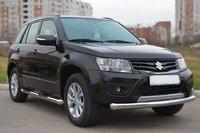 Защита переднего бампера (дуга) Suzuki Grand Vitara