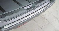 Накладка на задний бампер Nissan X-Trail T31 (метал)