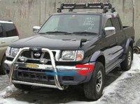 Накладка на передний бампер - дуга (защита) метал Nissan Datsun D22 (кенгурин)