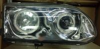 Фары тюнинг линза Mitsubishi Delica/Space Gear 1998-2006 хром