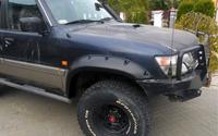 Фендера - расширители колесных арок Nissan Patrol Y61