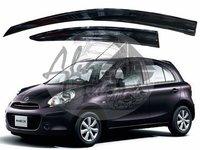 Ветровики - дефлекторы окон Nissan March/Micra K13 10- (TXR Тайвань)