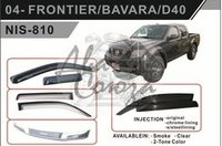 Ветровики - дефлекторы окон Nissan Navara/Frontier 05- (TXR Тайвань)
