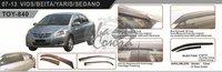 Ветровики - дефлекторы окон Toyota Belta/Yaris Sedan/VIOS P9# 2005-2012 (TXR Тайвань)