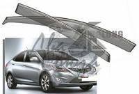 Ветровики - дефлекторы окон Hyundai Accent/Verna 2006-2011 4D