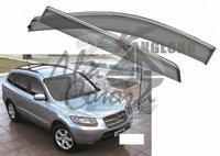 Ветровики - дефлекторы окон Hyundai Santa Fe 2006-2012