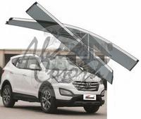 Ветровики - дефлекторы окон Hyundai Santa Fe / IX45 2012+