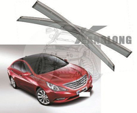 Ветровики - дефлекторы окон Hyundai Sonata / I45 2011+