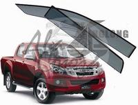 Ветровики - дефлекторы окон Isuzu D-MAX 2012+