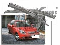 Ветровики - дефлекторы окон KIA RIO 2005-2010