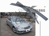 Ветровики - дефлекторы окон Mercedes-Benz C-Class W203 2000-2007