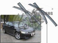 Ветровики - дефлекторы окон Mitsubishi Lancer X/Galant Fortis 2007+