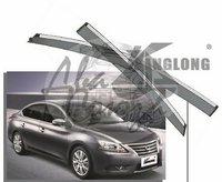 Ветровики - дефлекторы окон Nissan Bluebird Sylphy 2012+