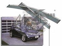 Ветровики - дефлекторы окон Nissan Murano #Z51 2008+