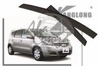 Ветровики - дефлекторы окон Nissan Note E11 2008-2012