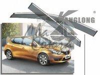 Ветровики - дефлекторы окон Nissan Tiida (HBK) 2011+
