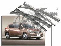 Ветровики - дефлекторы окон Nissan Tiida (HBK) C11 2004-2010