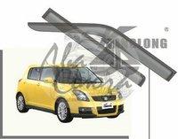 Ветровики - дефлекторы окон Suzuki Swift 2005-2010