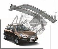 Ветровики - дефлекторы окон Suzuki SX4 JY 2012