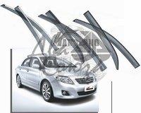 Ветровики - дефлекторы окон Toyota Corolla E150 2007+ (c молдингом)