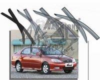 Ветровики - дефлекторы окон Toyota Corolla E120 2000-2006 4D