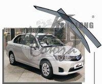 Ветровики - дефлекторы окон Toyota Corolla Axio E160 2012