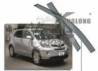 Ветровики - дефлекторы окон Toyota IST P11# 2007